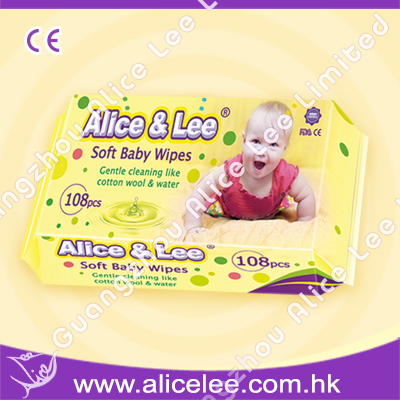 Baby Wipes of Alice & Lee brand