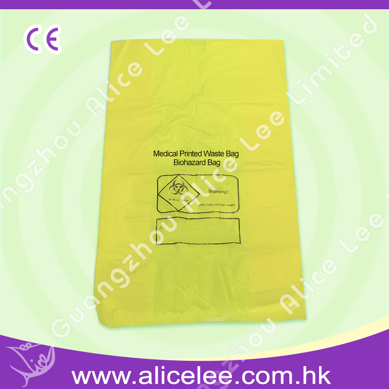 Medical Printed Waste Bag Biohazard Bag